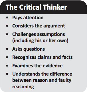 The Critical Thinker